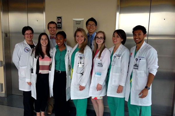 University of Florida medical students
