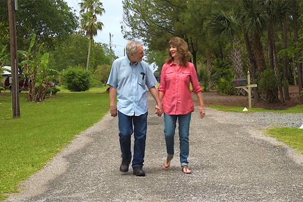 UF Health patient with Parkinson